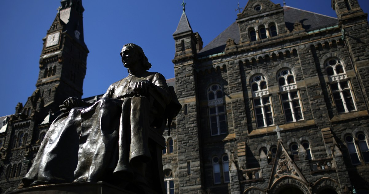 Late Georgetown provost, priest accused of nonconsensual contact with student