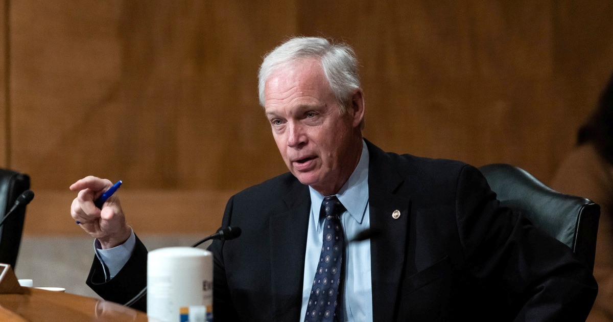 YouTube suspends GOP Sen. Ron Johnson's account, says he violated Covid-19  policy