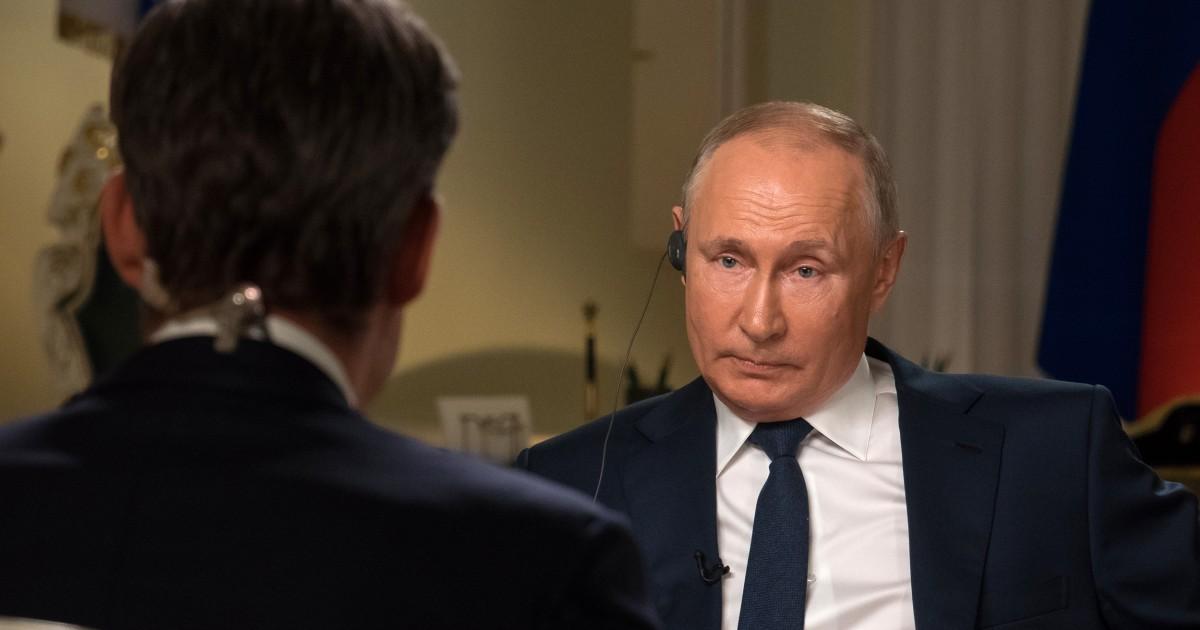 Putin dismisses criticism of hacking and internal crackdowns ahead of Biden summit