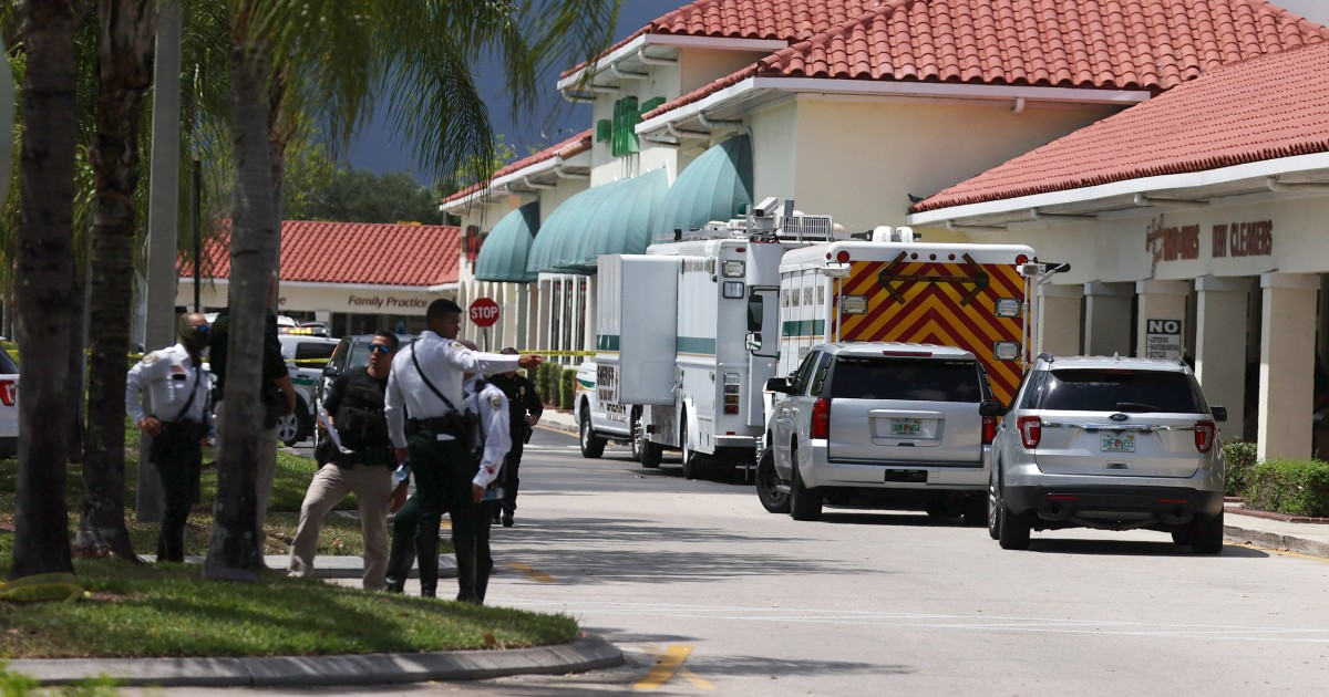 Suspected Florida supermarket shooter's threats to kill went unreported sheriff says – NBC News