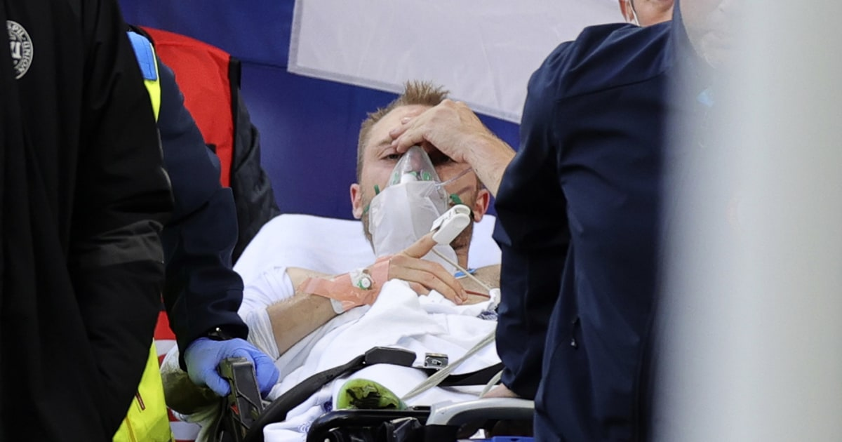 Danish soccer player 'stable' after collapsing on the field during Euro 2020 game