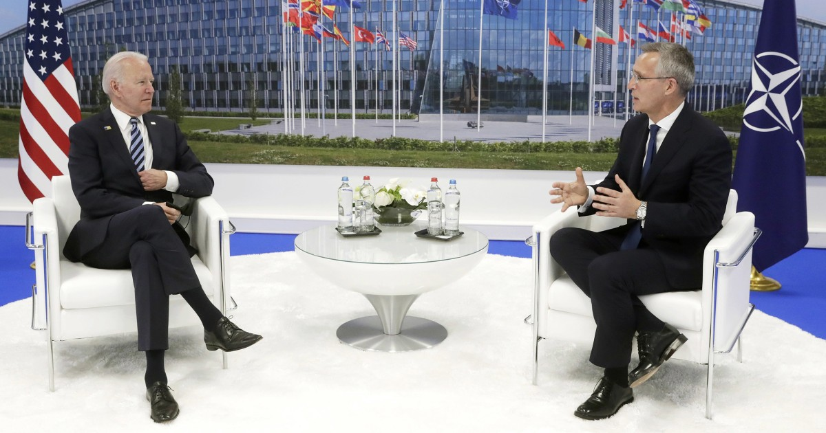 Biden kicks off first NATO summit with plans to focus on Russia, China