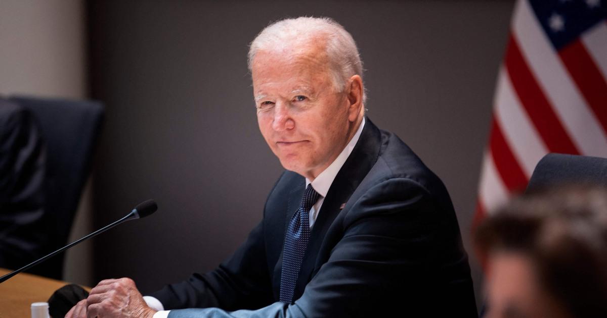 On European trip, Biden keeps benefitting from Trump's lowered bar
