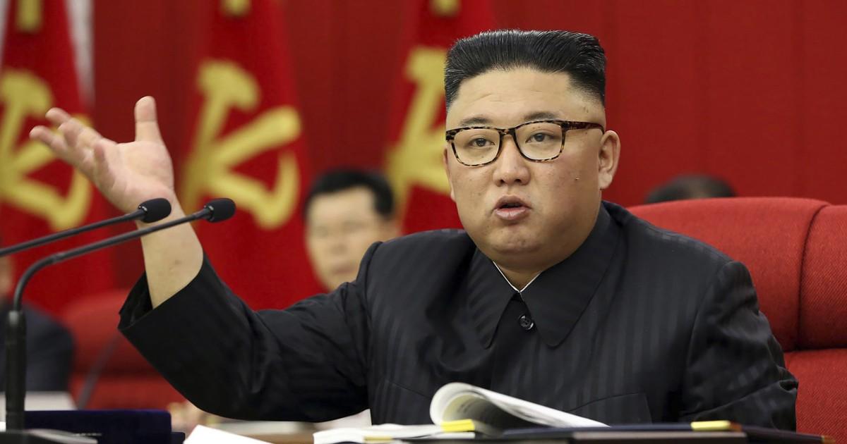 Kim Jong Un warns of 'tense' food situation in North Korea