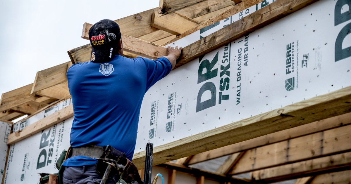 Rising cost of steel lumber and copper is hampering homebuilding — and pushing house prices out of reach – NBC News