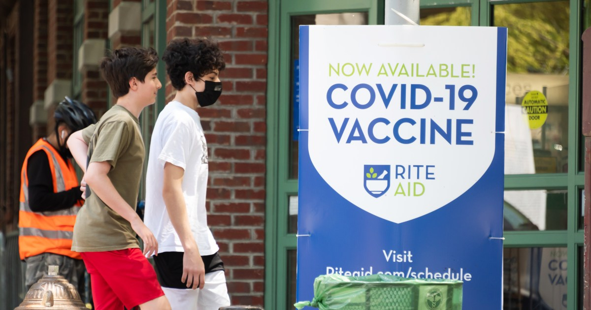 Over 300 cases of heart issue after Covid vaccination reported in young people CDC says – NBC News