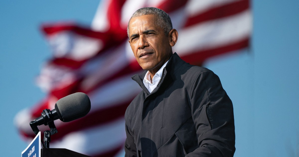 'Not acceptable': Obama slams GOP plan to filibuster voting rights bill