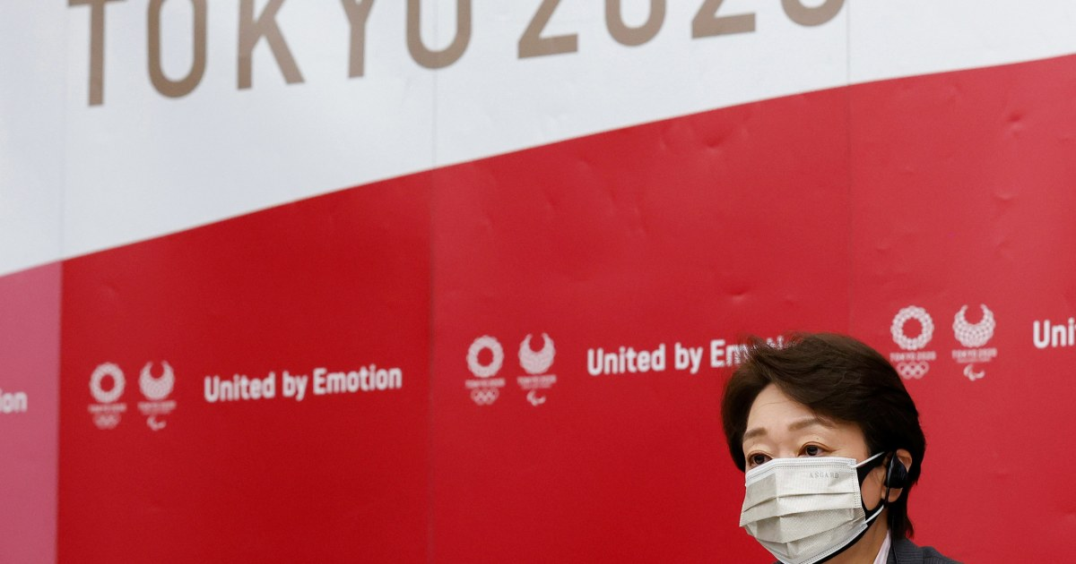 No spectators at the Tokyo Olympics still a possibility if virus cases surge, games chief Seiko Hashimoto says