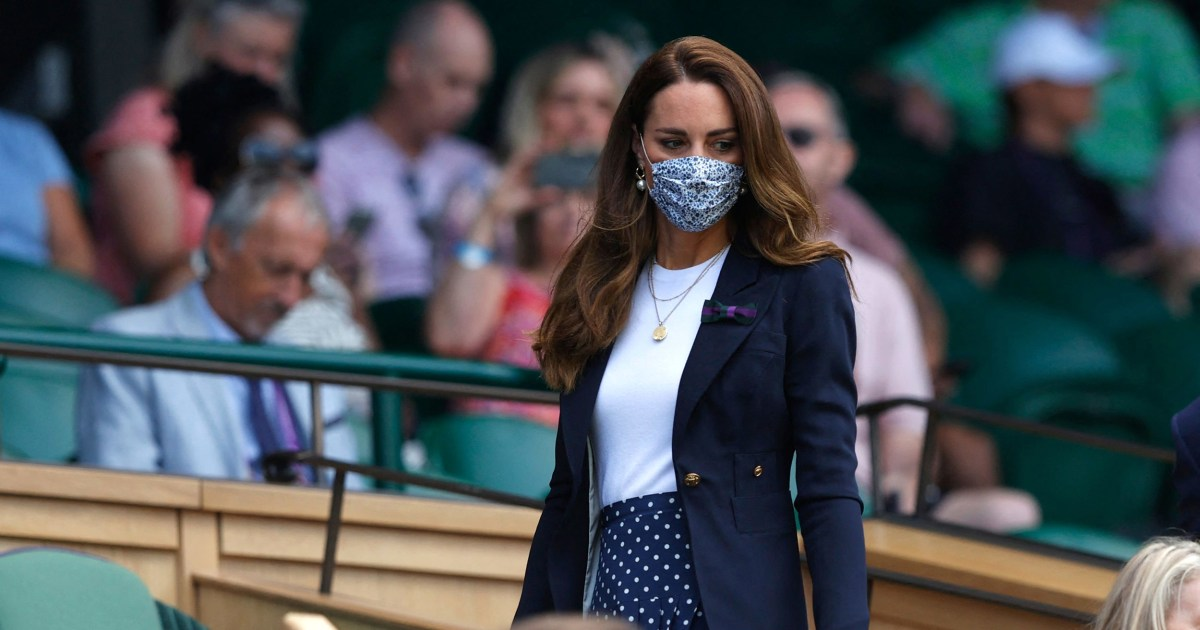 Britain's Duchess of Cambridge in isolation after possible Covid-19 exposure