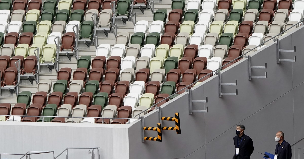Olympic athletes face new performance anxiety: No fans in the stands