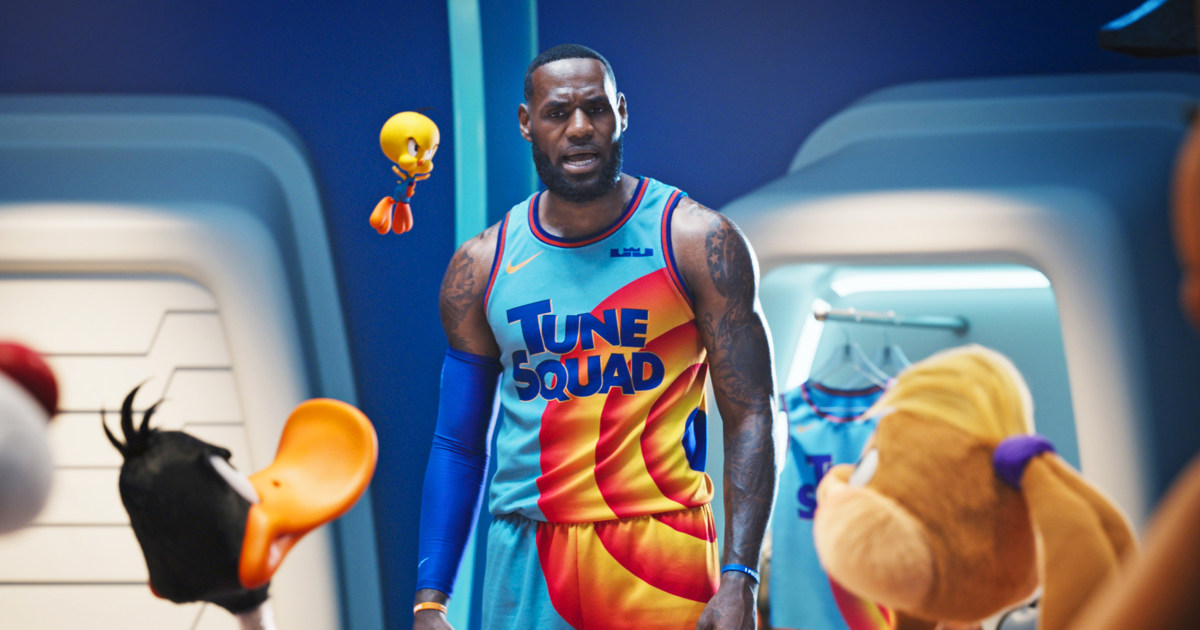 Space Jam' 2 is a soulless, overlong HBO gimmick. (LeBron's OK in it, though.)