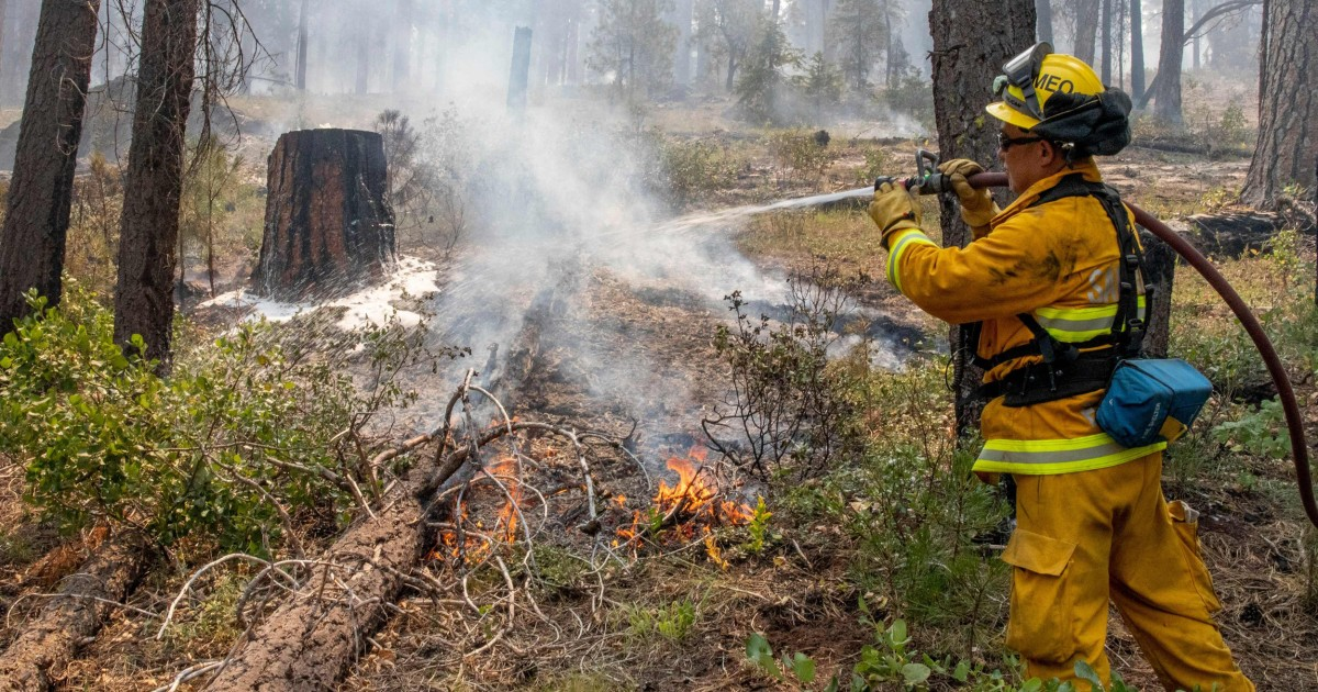 Evacuations lifted as progress is made against Western fires