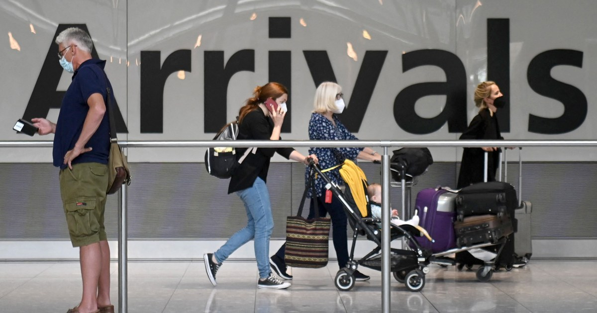 Americans shouldn't travel to U.K. because of Covid, State Department says