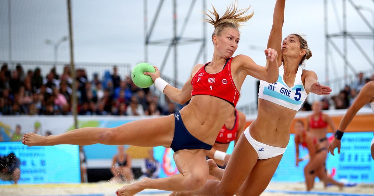 Norwegian beach handball bikini debacle is misogynist parody come to life
