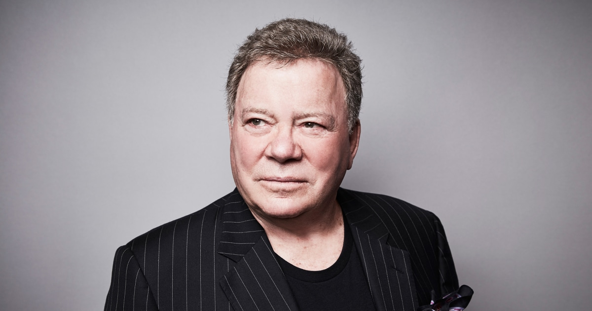 William Shatner on his RT show, the billionaire space race and mortality