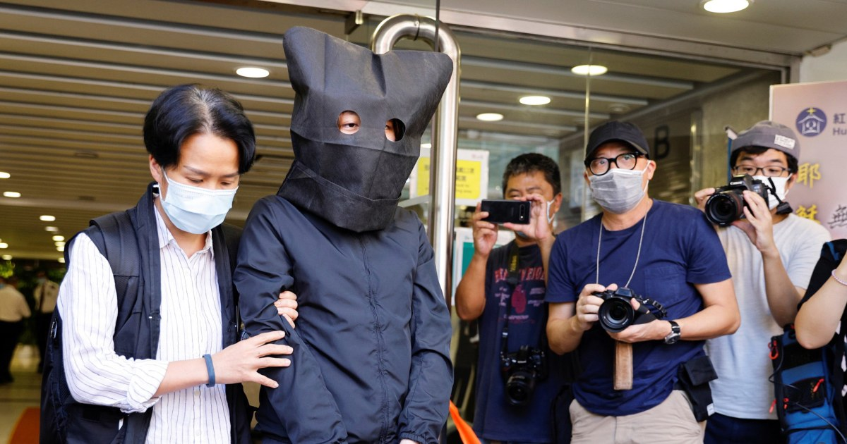 Hong Kong police arrested five people Thursday, on suspicion of conspiring to publish