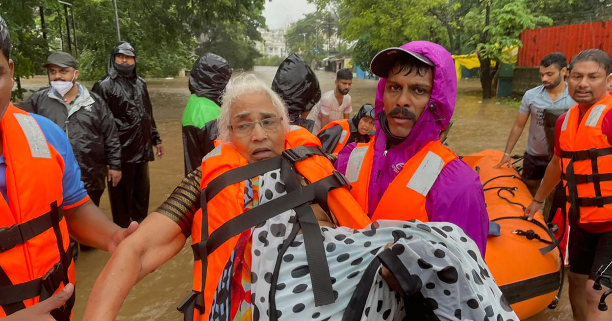 Over 100 People Dead as Monsoon Rains Cause Landslides and Floods in India