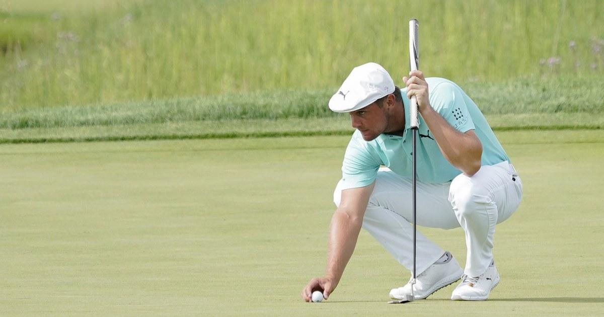 Image Golfer Bryson DeChambeau contracts Covid-19, knocking him off U.S Olympics team - NBC News