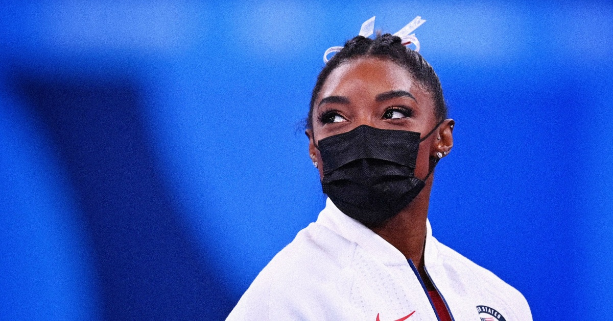 There's no shame in Simone Biles' withdrawal from the gymnastics team finals