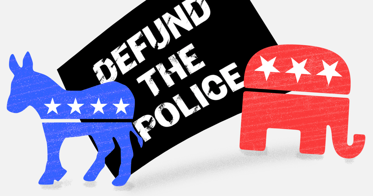 Democrats want to flip 'defund the police' on Republicans. It could backfire.