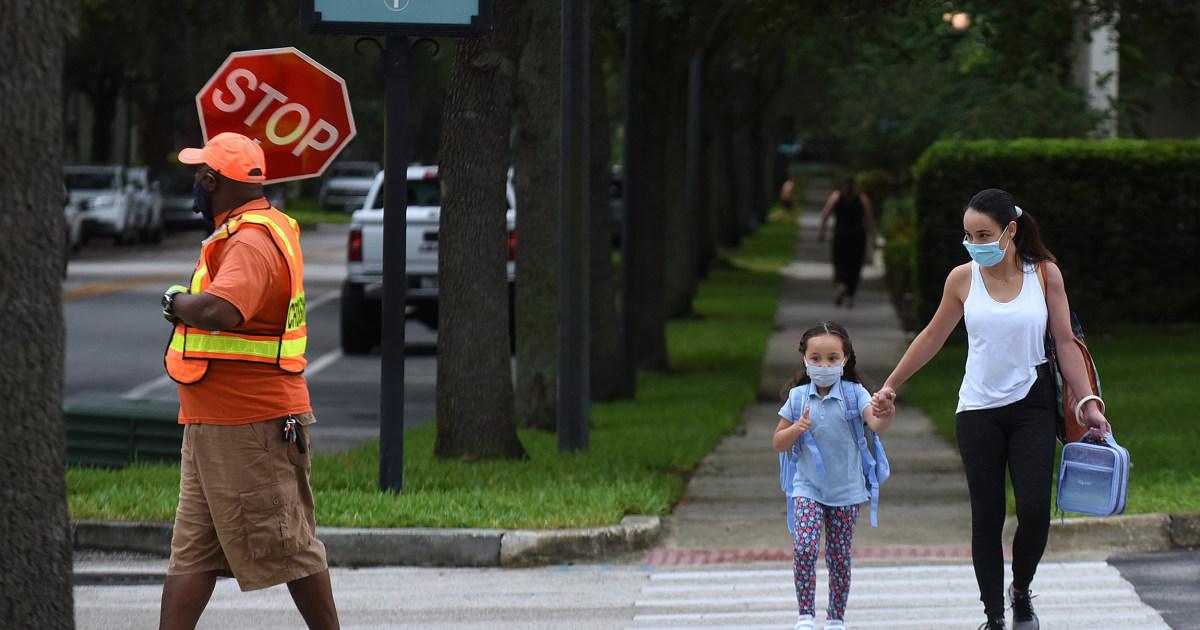 Florida Gov. Ron DeSantis says parents should decide if their children wear masks to school