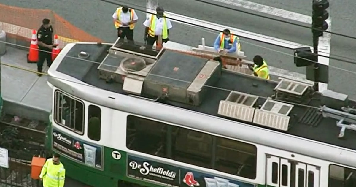 Boston trolley collision injures more than 20 people