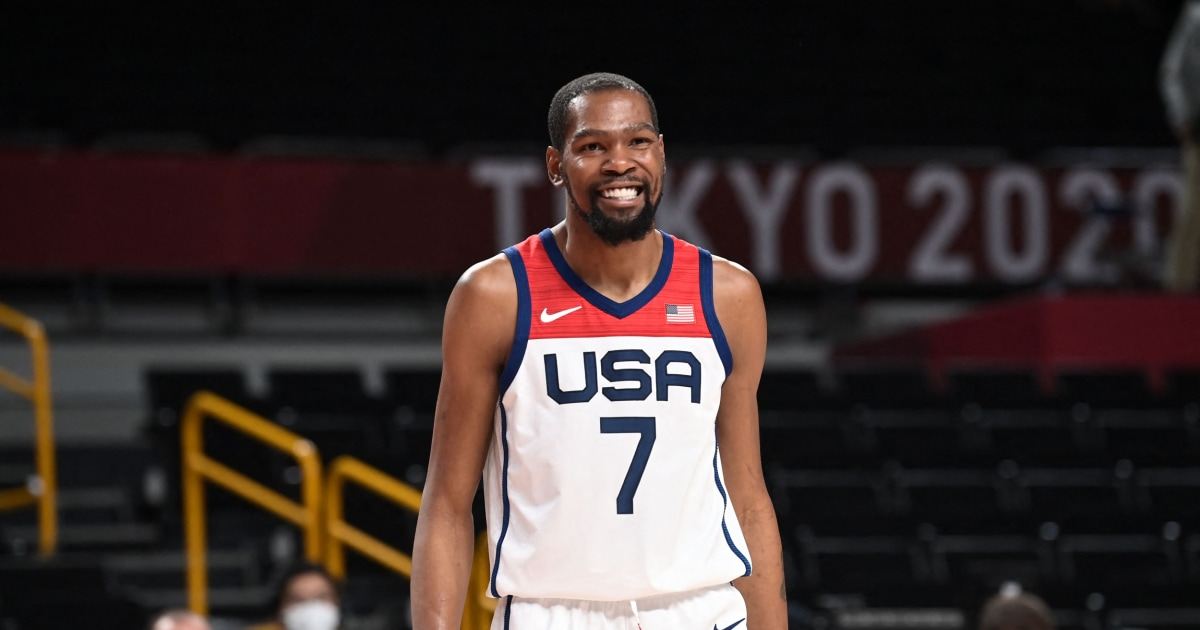 Durant becomes top scorer in U.S. men's Olympic history