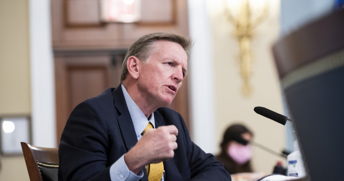 Our brother Paul Gosar backed Trump's lie and betrayed America. Has he no shame?