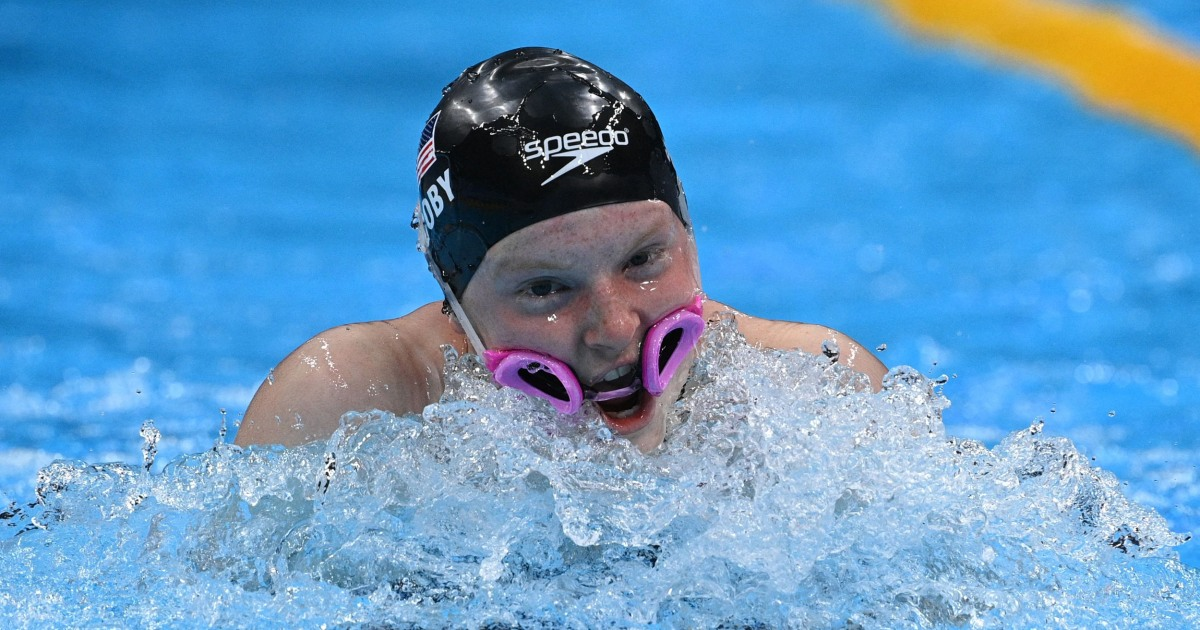 Lydia Jacoby speaks out after goggle slip during medley relay at Tokyo Olympics