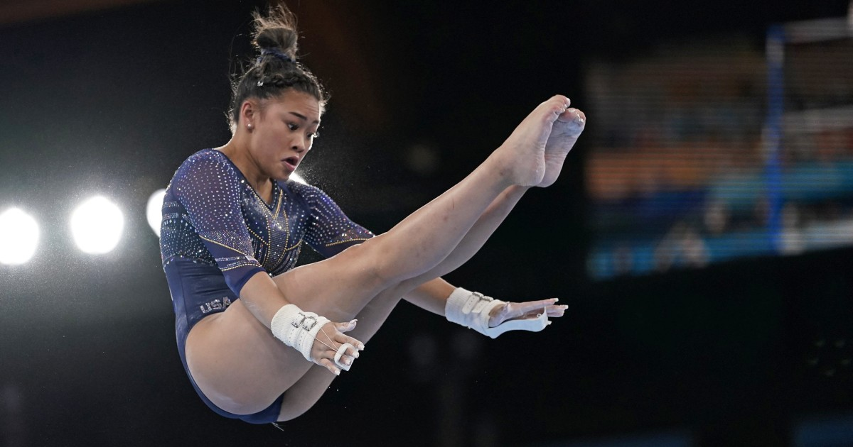 Suni Lee wins bronze in bars despite rare mistakes, adding to gold and silver medals
