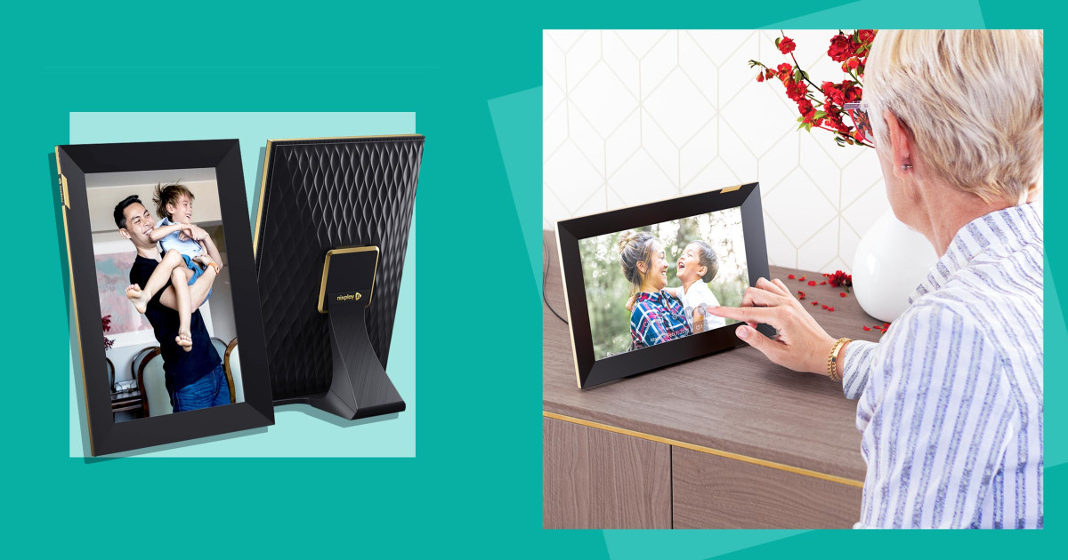 Nixplay launches 10.1-inch touchscreen smart photo frame