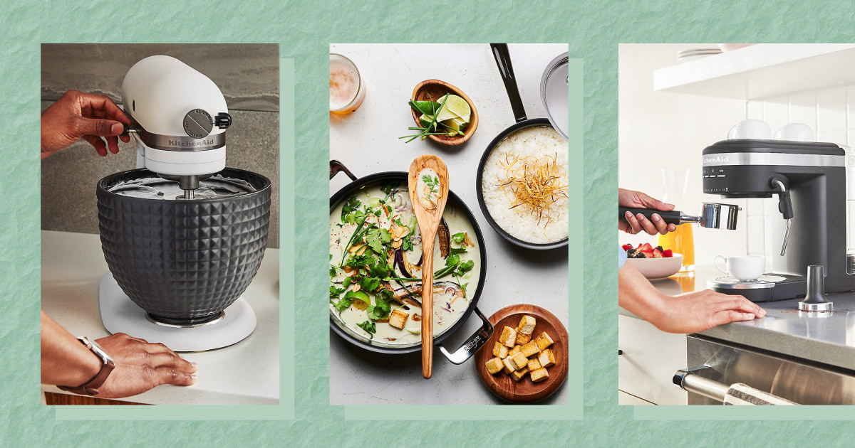 Crate & Barrel launches new products from KitchenAid and more