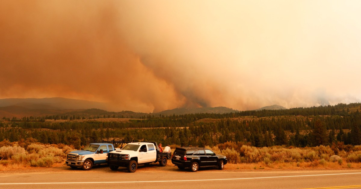 Wildfire smoke could raise risk of severe Covid and death, study finds
