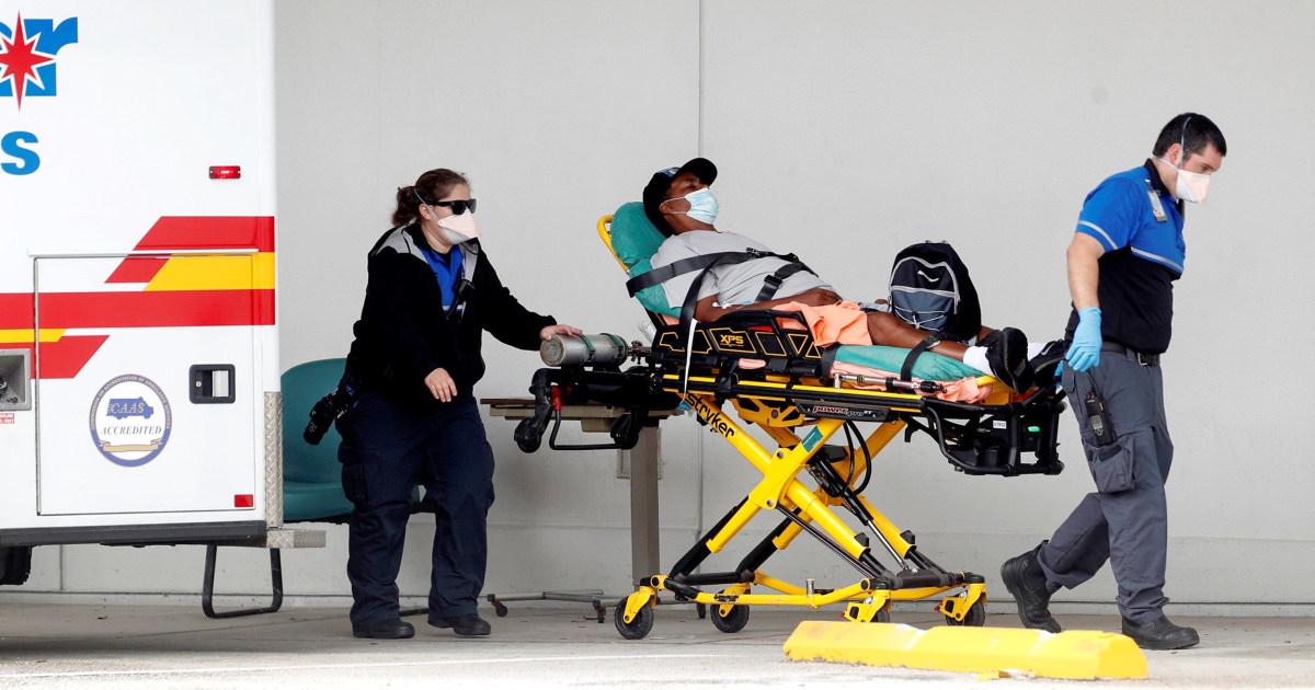 U.S. sends hundreds of ventilators to Florida as Covid surge continues