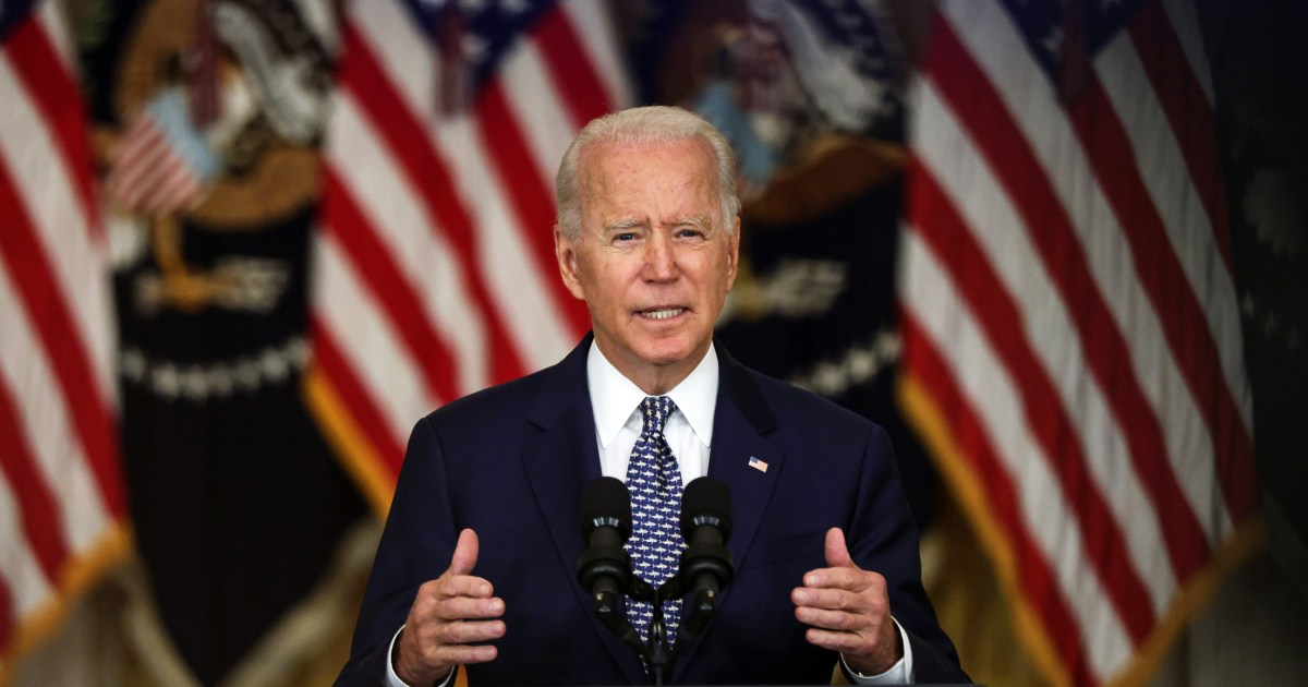 WASHINGTON — President Joe Biden faced growing criticism from his allies in Washington following the Taliban takeover of Afghanistan as administrati