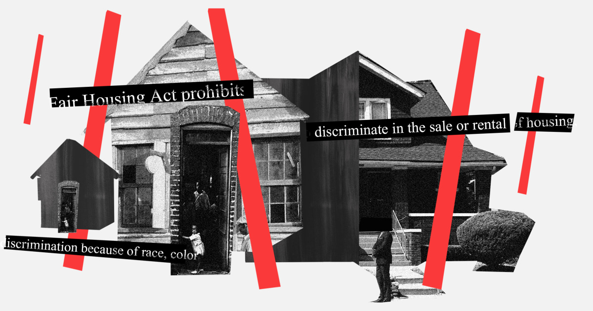 www.msnbc.com: Biden is reversing Trump's discriminatory housing rulings. We need more.