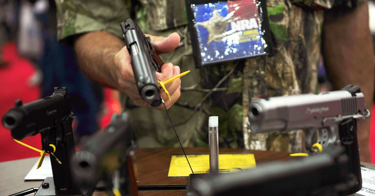 NRA cancels annual meeting in Texas due to Covid