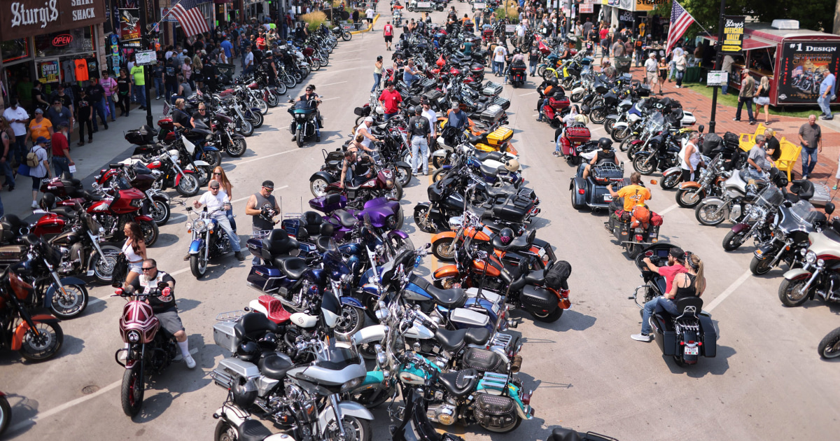 South Dakota Covid cases quintuple after Sturgis motorcycle rally
