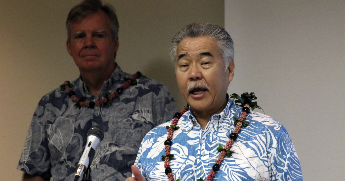 Hawaii governor tells tourists 'it is not a good time' to visit as Covid cases climb