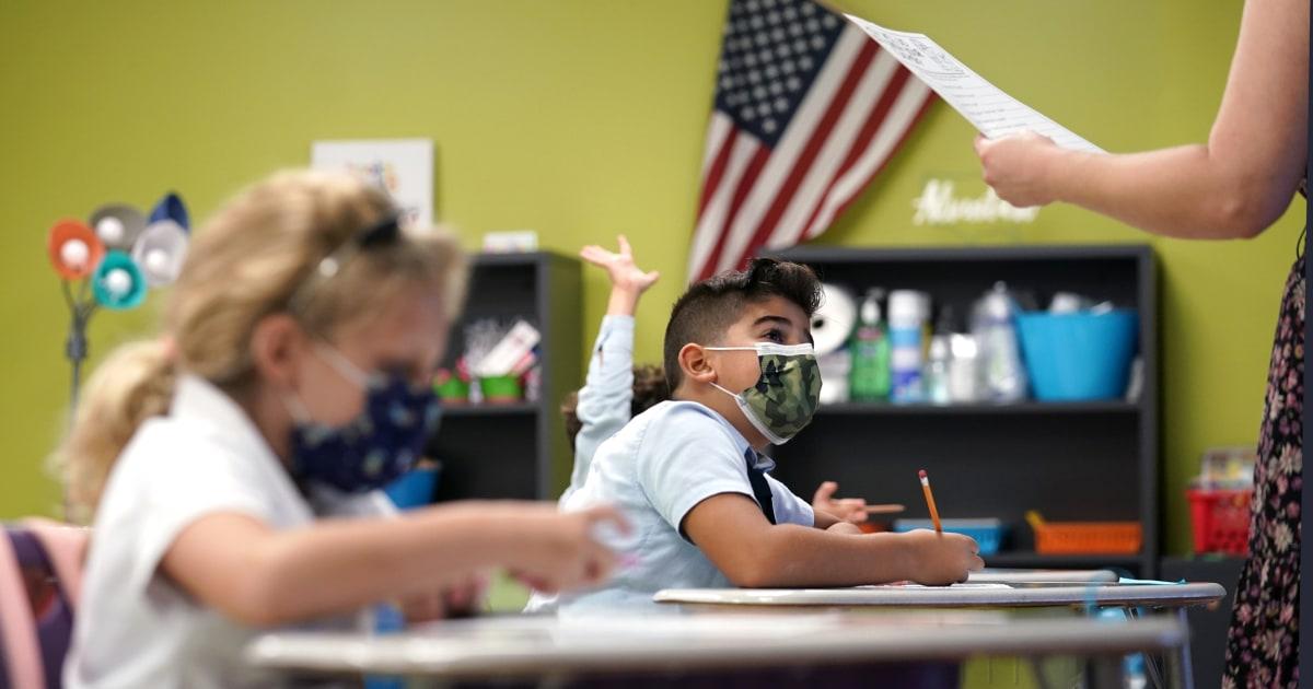 Despite court's decision Florida withholds school board salaries over mask mandates – NBC News