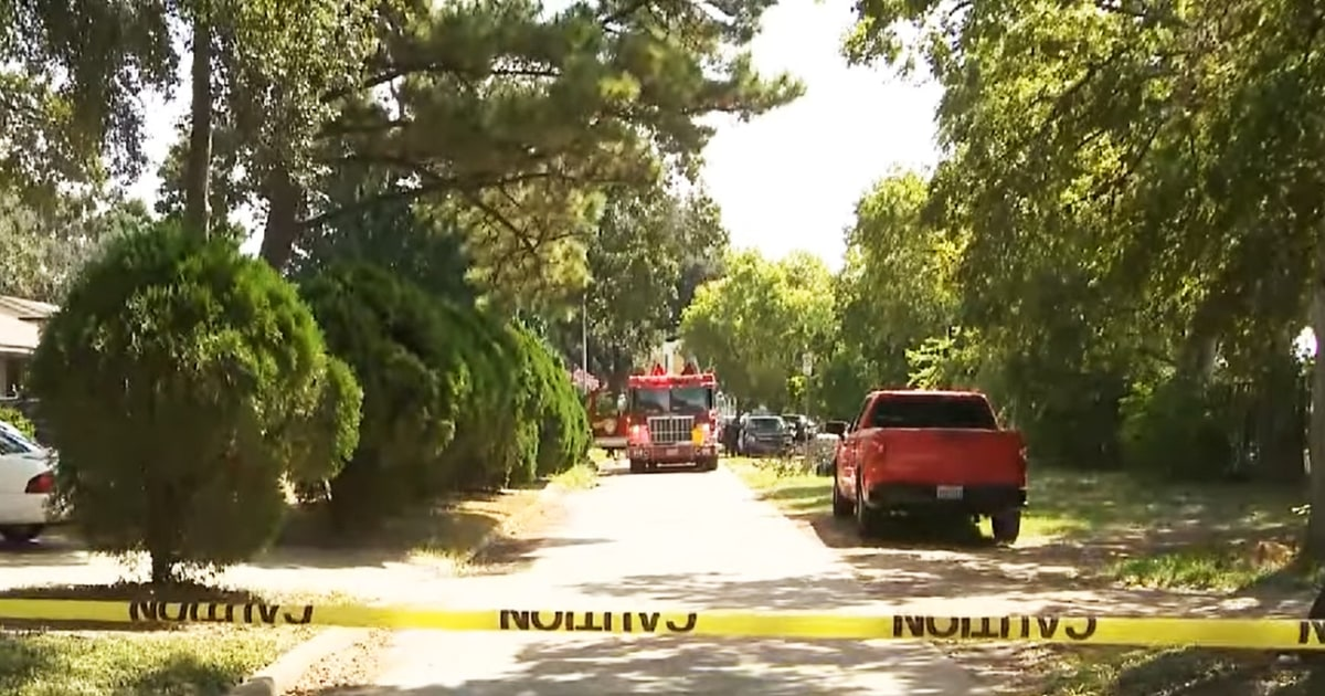 Four people, including two children, found shot to death at burning home in Houston - NBC News