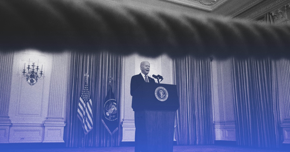 Opinion | Biden's finally doing what is necessary to end the pandemic