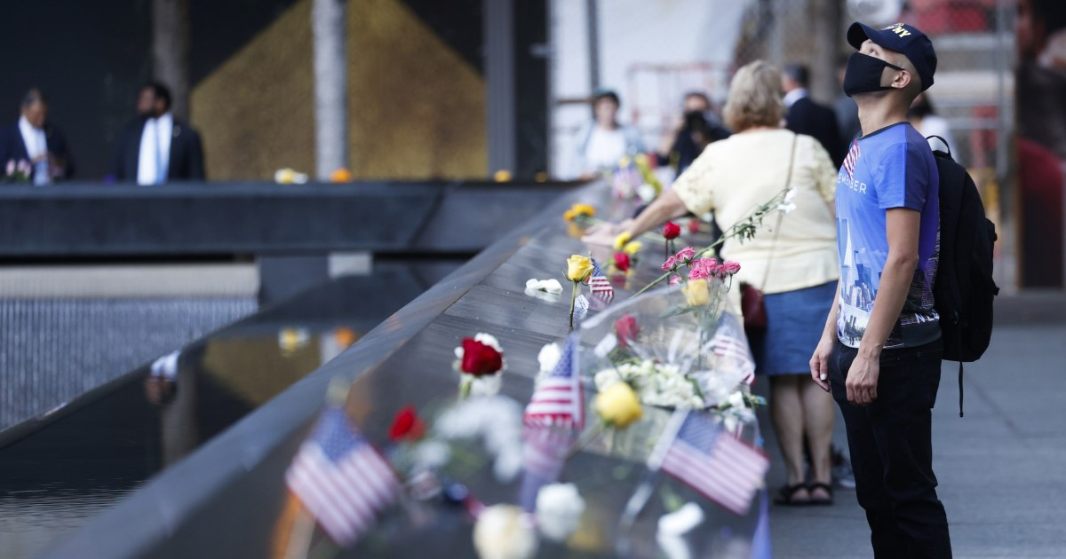 Biden former presidents honor heroes lives lost as nation marks 20th anniversary of 9/11 – NBC News