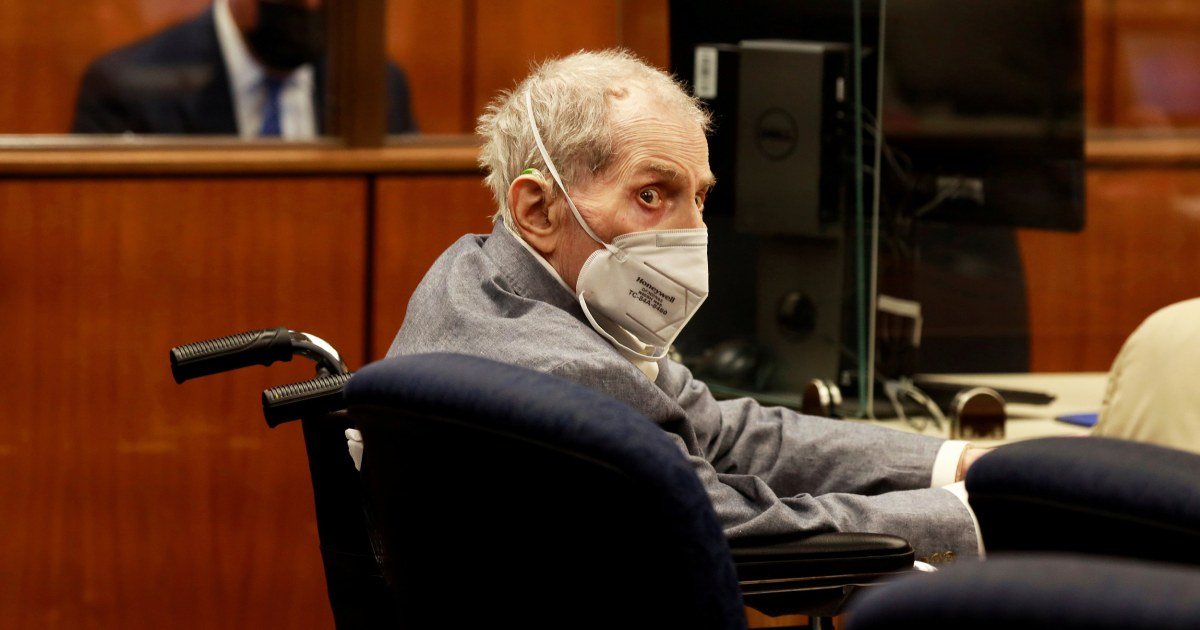 Robert Durst found guilty of murdering close friend Susan Berman in 2000