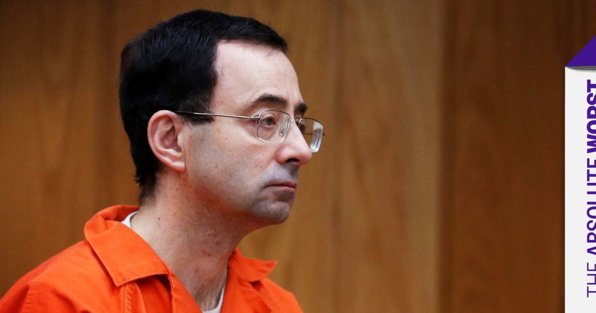 Nassar's enablers are tonight's 'Absolute Worst.' Here are the dishonorable mentions.