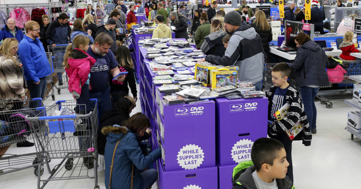 Walmart's plan for avoiding crowds this year? Offer three Black Fridays.