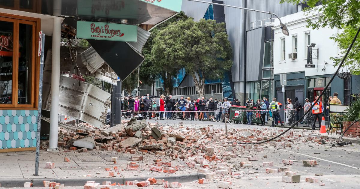 5.8-magnitude earthquake strikes Australia; shaking felt in Melbourne – NBC News