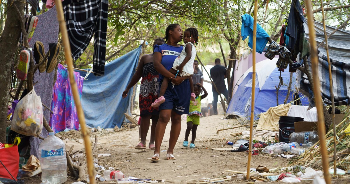 Many Haitian migrants camped in Texas border town being released in U.S., officials say
