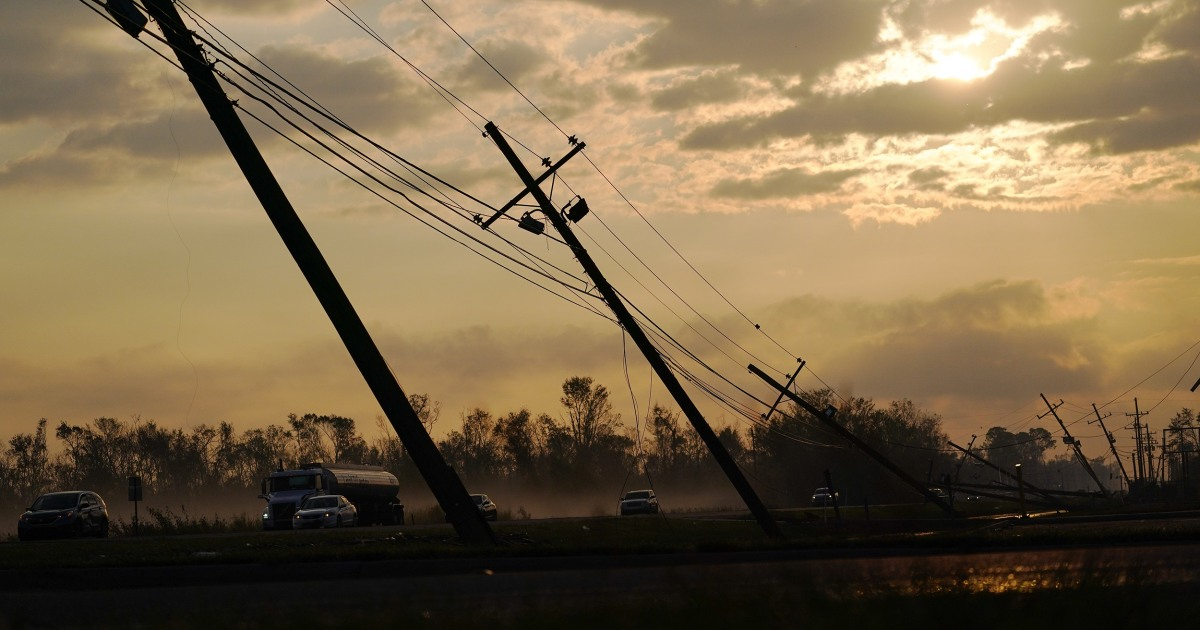 Hurricane Ida power grid failure forces a reckoning over Entergy's monopoly in the South