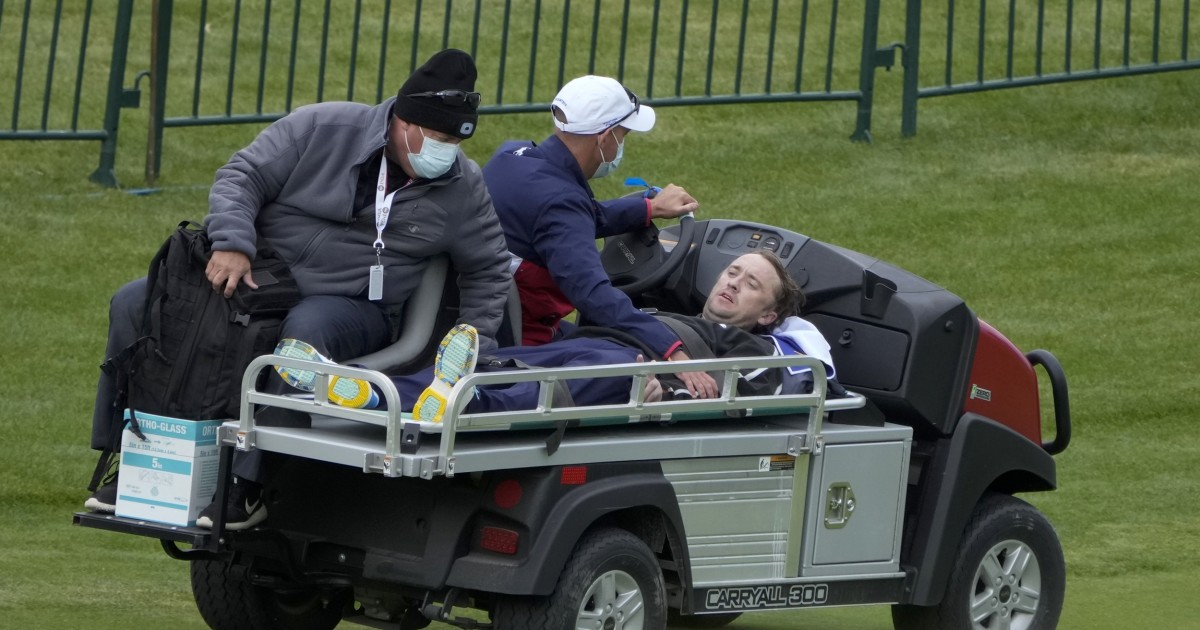 'Harry Potter' actor Tom Felton collapses during celebrity golf match at Ryder Cup